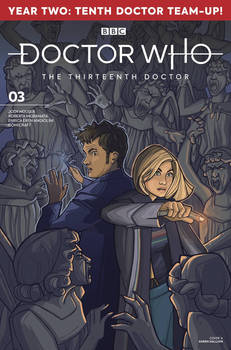Doctor Who cover for Titan