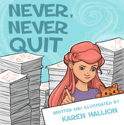 Never, Never Quit book cover