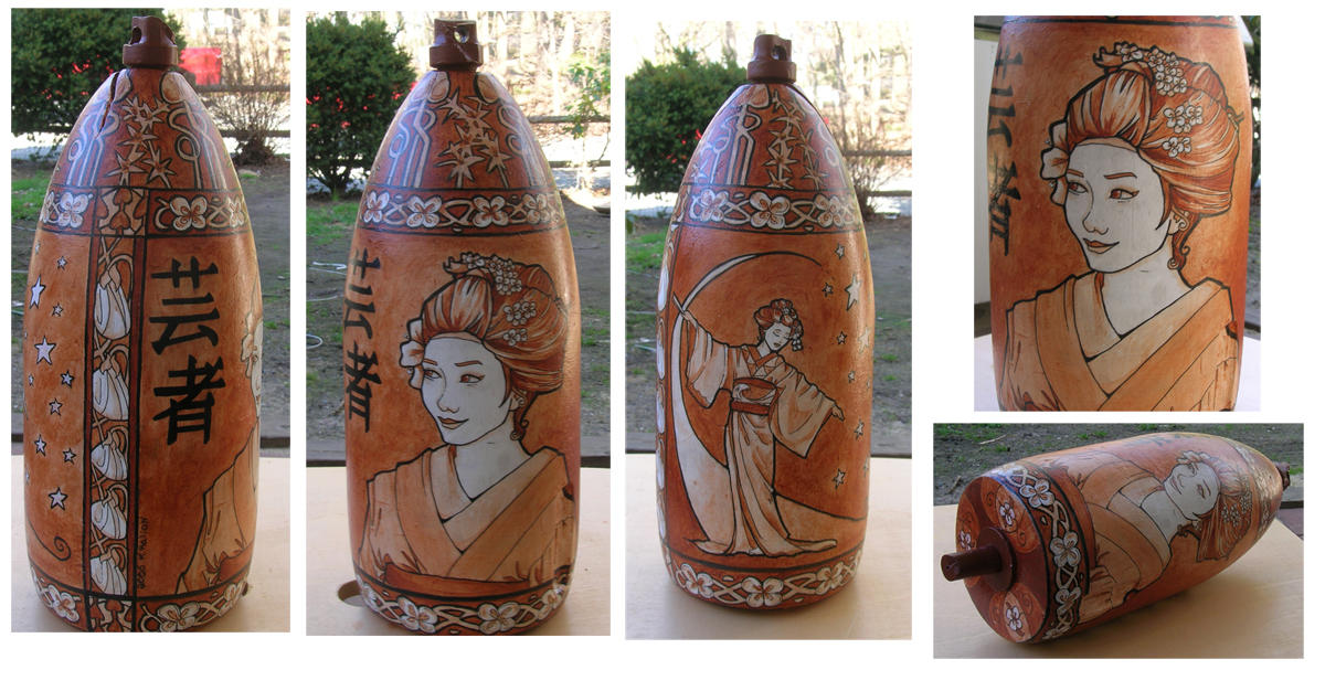 Geisha Buoy completed by khallion