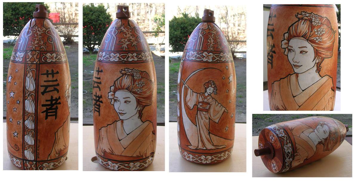 Geisha Buoy completed by khallion