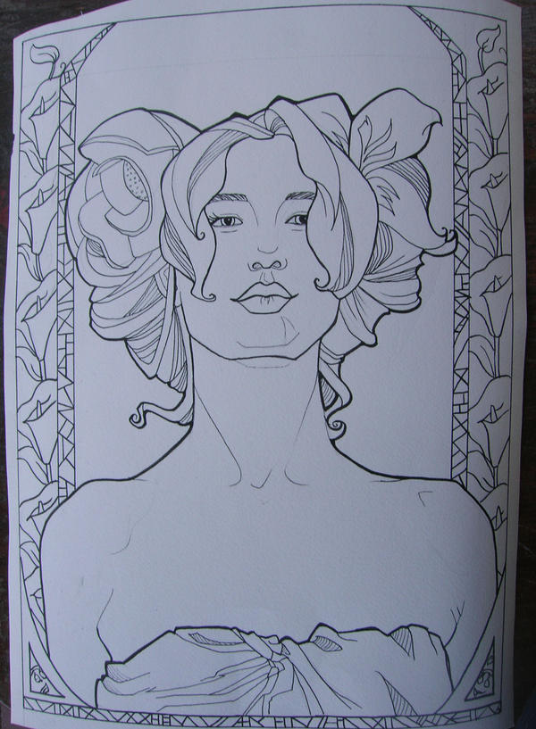 Mucha Girl by khallion