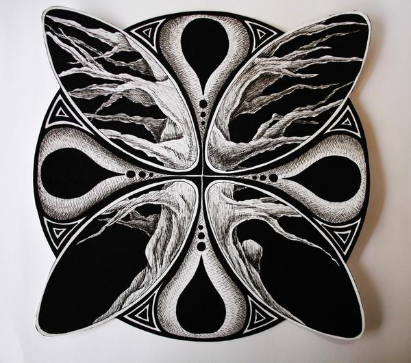 Simple tree design by Kelly-N-Gin