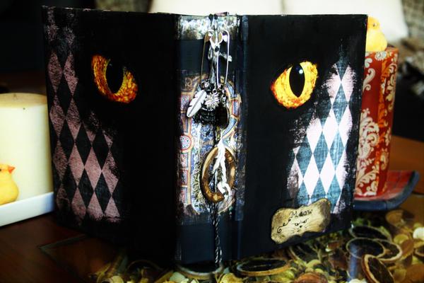 Handmade Book Of Shadows/Junk Journal by Kelly-N-Gin