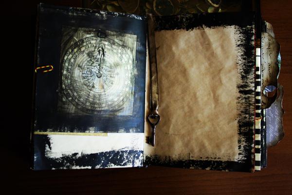 Handmade Book Of Shadows/Junk Journal 1 by Kelly-N-Gin