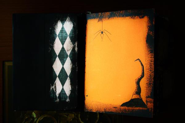 Handmade Book Of Shadows/Junk Journal 3 by Kelly-N-Gin