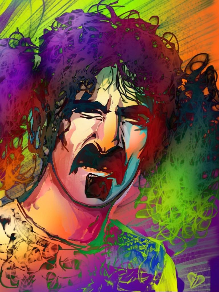 Frank Zappa by Goliwog