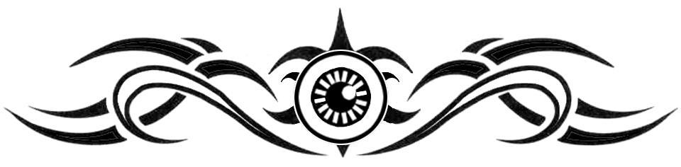 Tribal eye tattoo art by ~Goliwog on deviantART