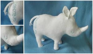 Unicorn 1: Rhino by elbooga