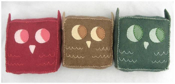 Little Owls Altogether
