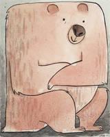Birthday Bear In a Box by elbooga