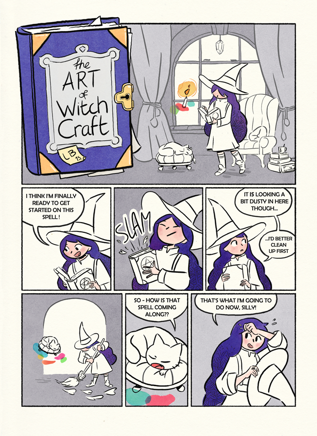 The Art of Witchcraft by elbooga