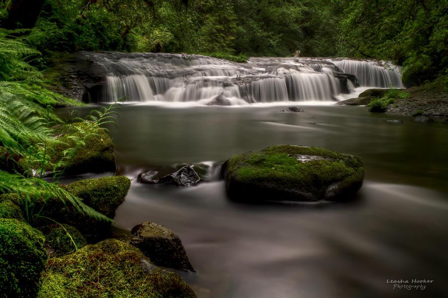 Sweet Creek Falls by LeashaHooker