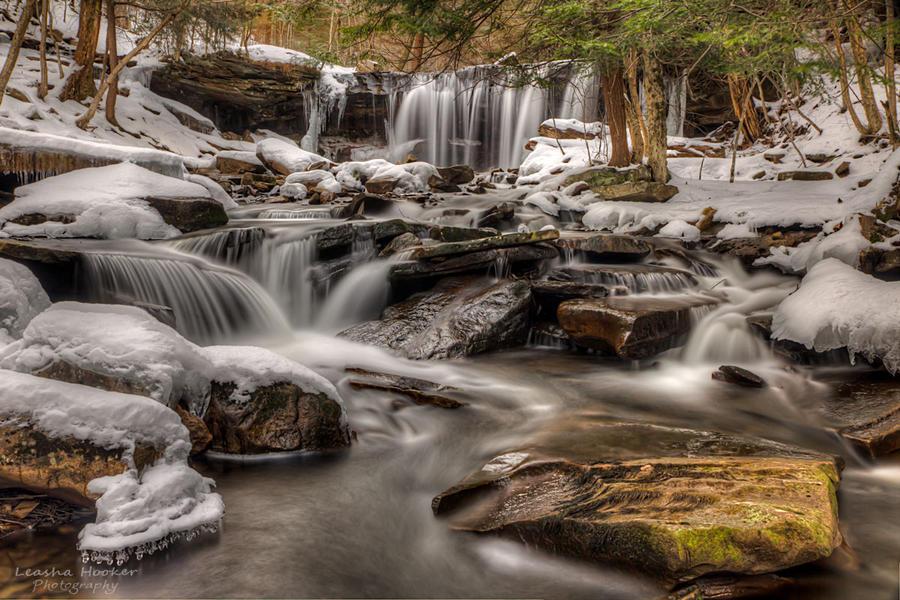 Heavenly Falls by LeashaHooker