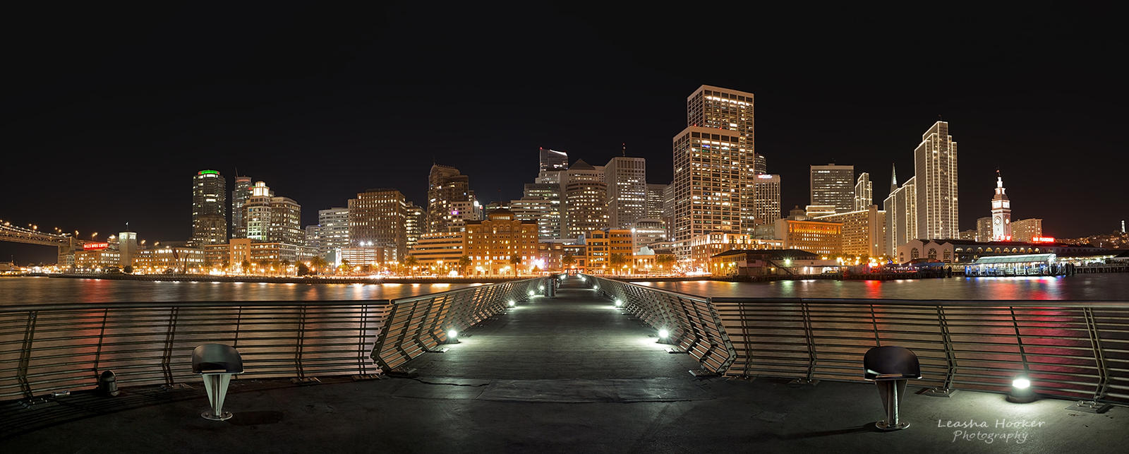 Pier 14 Pano by LeashaHooker