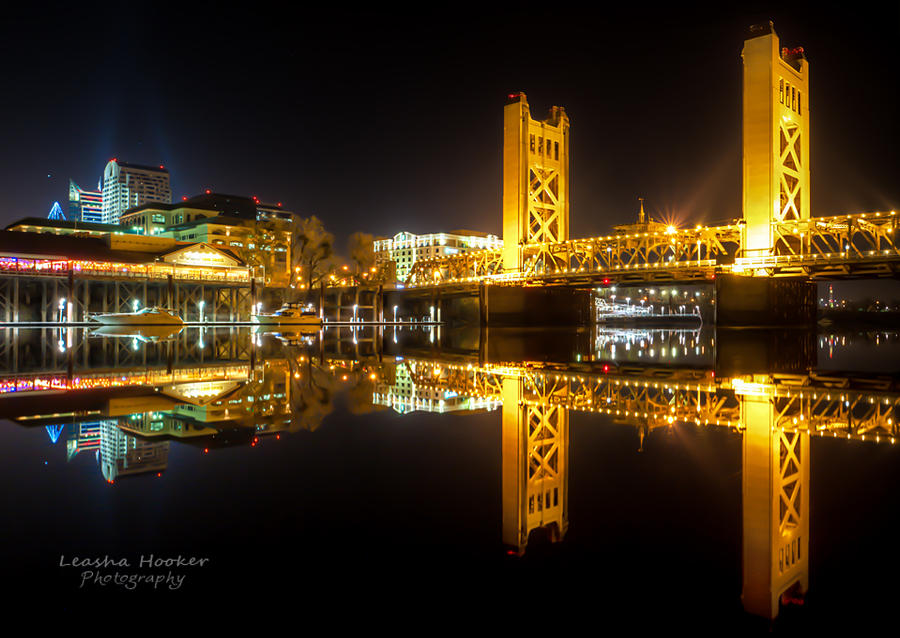 Sacramento Reflection by LeashaHooker
