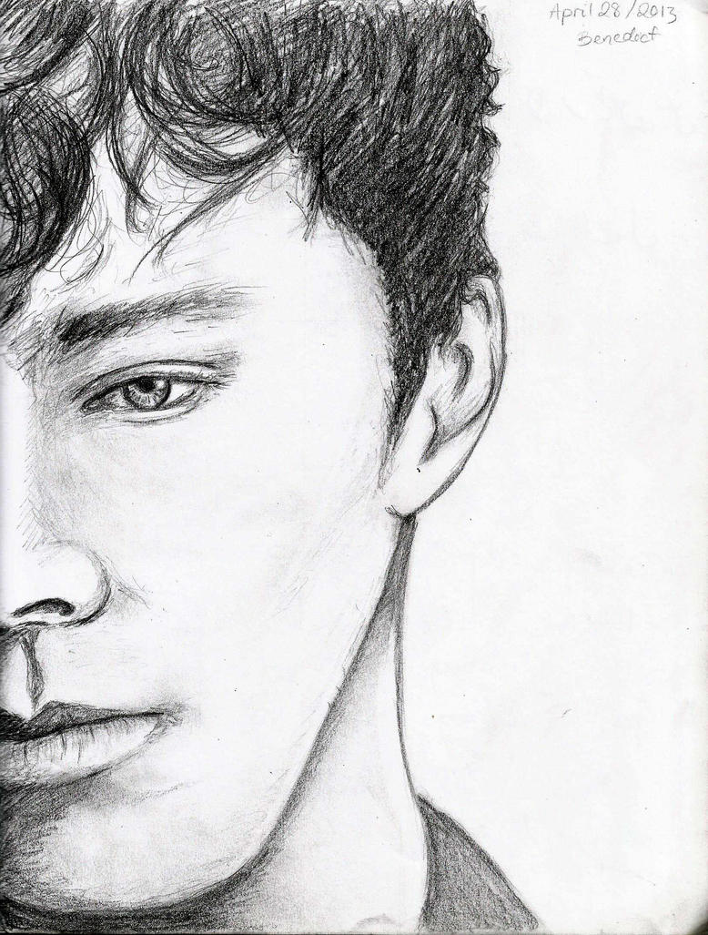 Benedict Cumberbatch by crazybookworm96