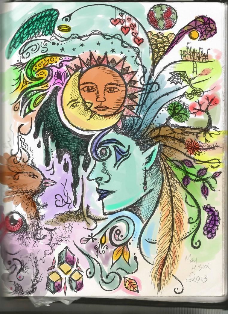 Doodle by crazybookworm96