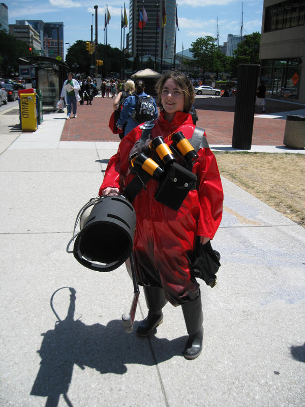 Pyro Tf2 Cosplay The Pyro is a Girl by ...
