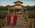 buddhistic monks