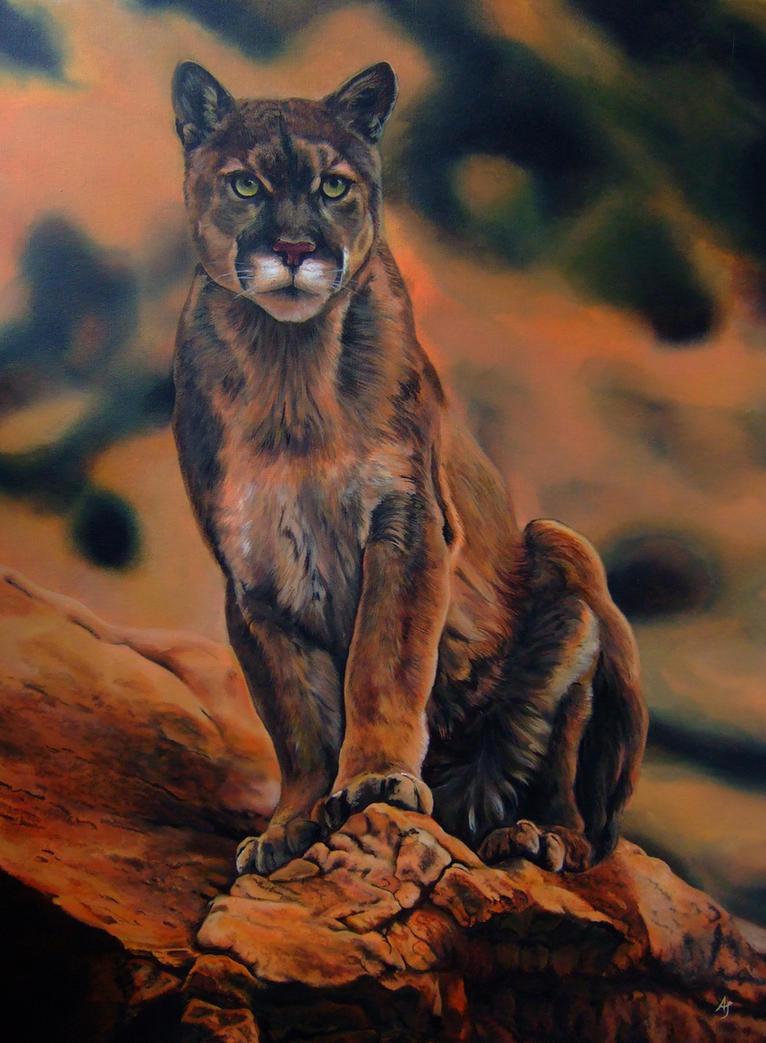 cougar by Ankaraven