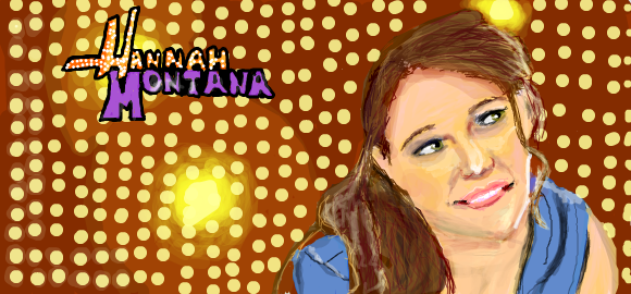 Hannah Montana by surlaroute