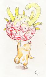 Mote Mote et le Red Brain by GTK666