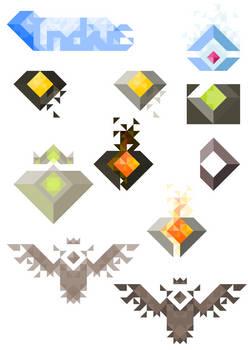 Indius - Recherche de logo