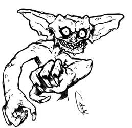 Gremlins-like creature