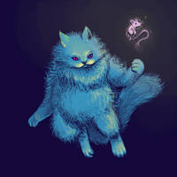 March T9 - Blue Cat have the power by GTK666