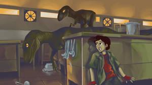 March T3 - Jurassic Kitchen by GTK666