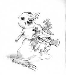 December T7 - Snowman's murder by GTK666