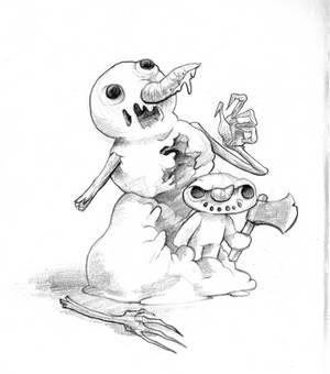 December T7 - Snowman's murder