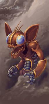 Robot Gremlin by GTK666