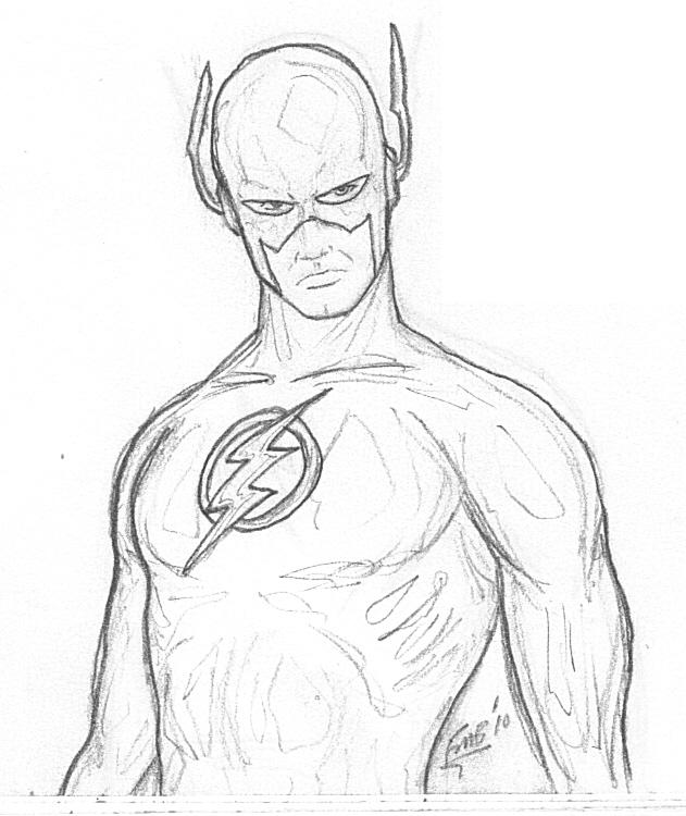 jay garrick flash coloring pages - photo#28