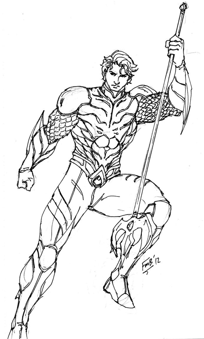 Aquaman Jim Lee Concept By Kyomusha On DeviantArt