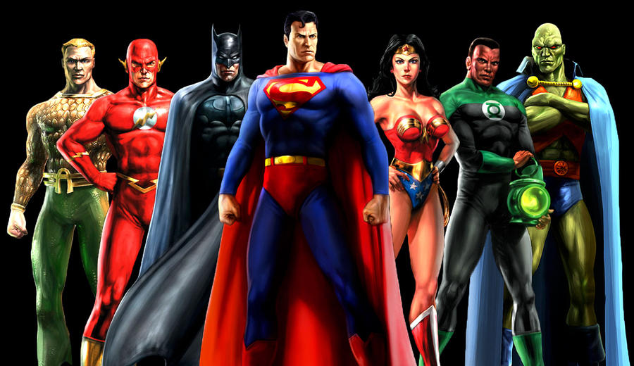 deviantART: More Like Justice League Heroes Wallpaper by kyomusha