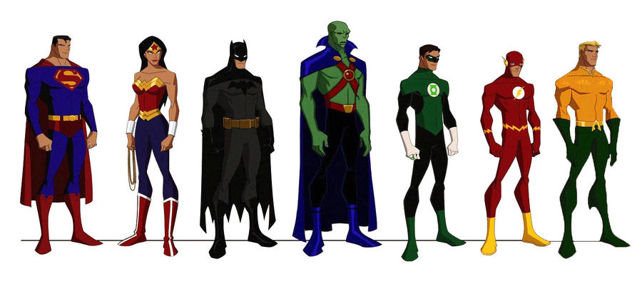 JLA:The Animated Series by kyomusha