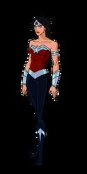 DC New 52:Wonder Woman Animated by kyomusha