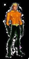 DC New 52:Aquaman Animated by kyomusha