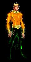 JLA Animated:S3-4 Aquaman by kyomusha