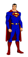DC:New Earth Superman Animated