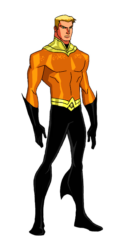 DC:New Earth Aquaman Animated by kyomusha