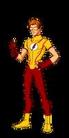 DC:New Earth Kid Flash Animated by kyomusha