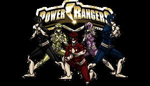 Mighty Morphin Power Rangers by kyomusha