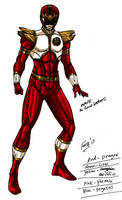 MMPR: Red Thunder Ranger