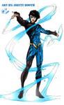 Brett Booth Aqualad/Tempest Concept - Colored