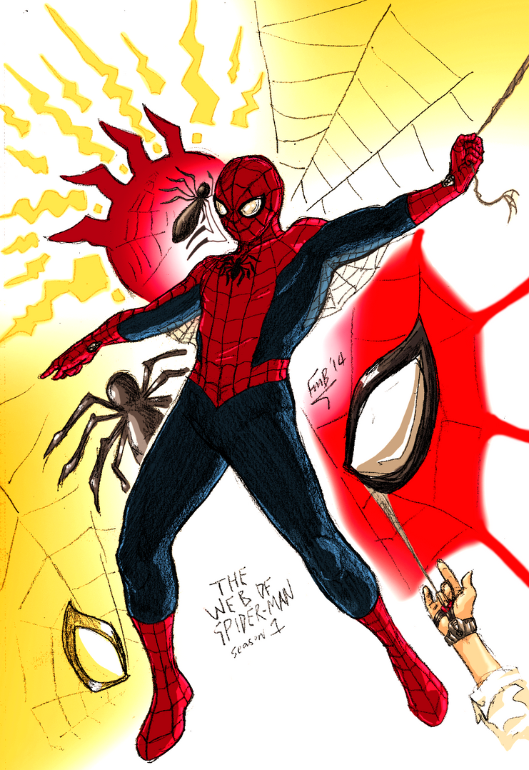 The Web of Spider-man by kyomusha