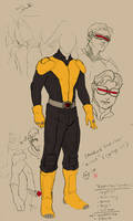 X-men: Standard uniform concept by kyomusha