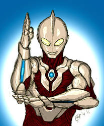 Ultraman by kyomusha