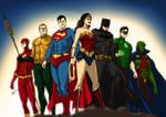 Justice League of America - The Original Seven